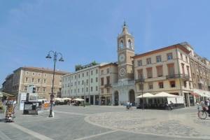 Rimini Tre Martiri square