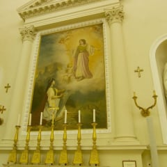Basilica Del Santo Marino painting