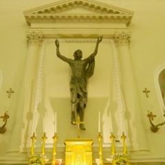 Basilica Del Santo Marino statue