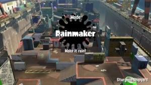 Splatoon 2 Rainmaker mode