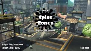 Splatoon 2 Splat Zones mode