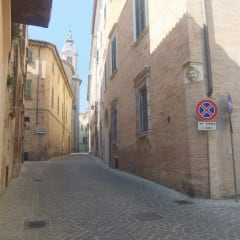 Jesi beautiful narrow streets
