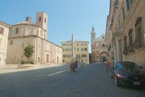 Jesi Piazza Frederico II market