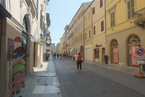 Jesi shopping city centre