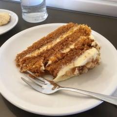 Origins Cafe carrot cake