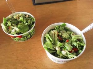Din Grădină salads