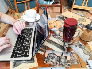 Semiramis Cafe tea cookies