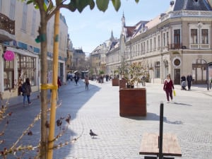 Oradea walk city centre
