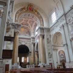 Bologna Cathedral Saint Peter interior