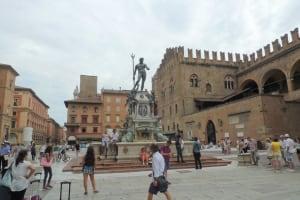 Bologna fountain Neptune Maggiore square