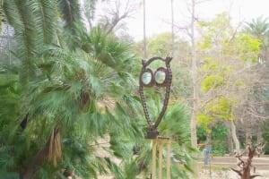 owl chain jardin botanico