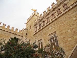 La Lonja de la Seda building