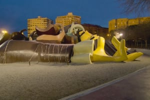 Gulliver playground head