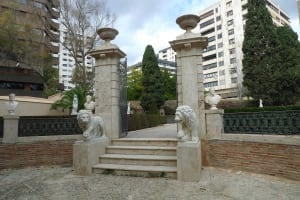 Jardines de Monforte entrance