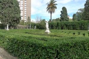 Jardines de Monforte statues