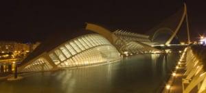 Ciudad de las Artes y las Ciencias — the futuristic complex in Valencia