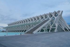 El Museo de las Ciencias Principe Felipe outside