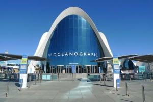 L'Oceanografic entrance