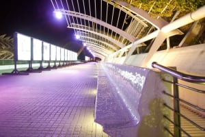 L'Umbracle benches