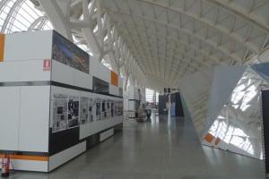 El Museo de las Ciencias Principe Felipe stands
