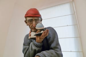 Museo Fallero man penguin