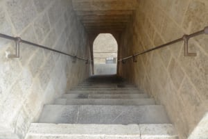 Torres de Serranos stairs