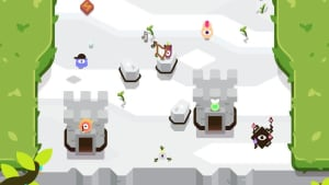 TumbleSeed village between sections