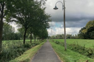 Eindhoven park Dommelplantsoen