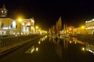 Cesenatico canal boats